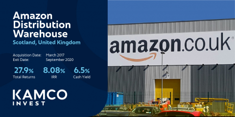 Amazon Distribution Warehouse